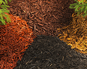 An example of mulch available in Saratoga